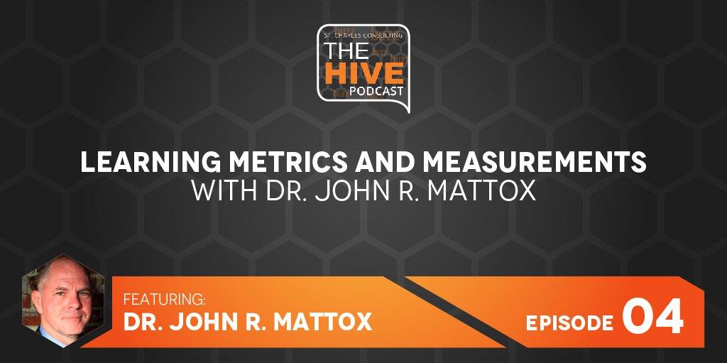 Learning Metrics and Measurement - John Mattox Gartner